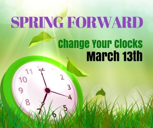 Daylight Savings Time 2016