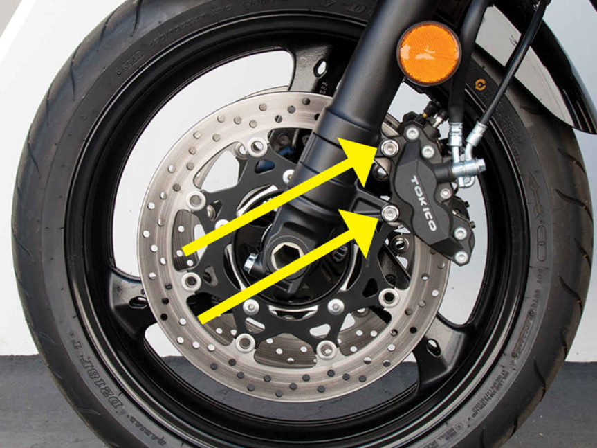 The Motorcycle Brake System: How It Works