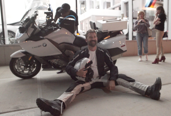 Man Breaks Solo Cannonball Motorcycle Record