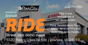 Star City RIDE Event @ Star City Powersports | Hollins | Virginia | United States